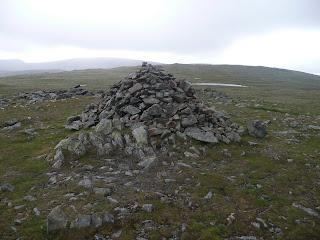 Cairn on Caudale Moor