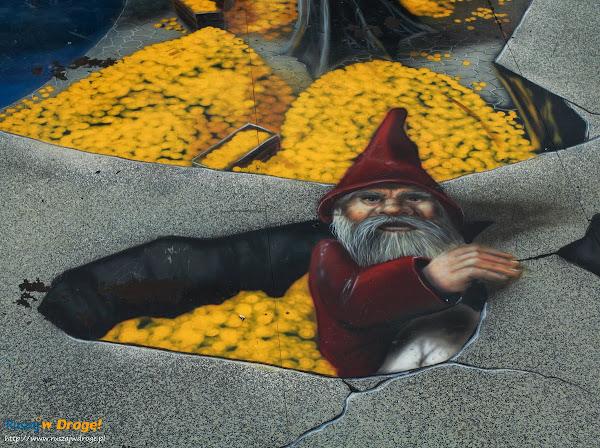 Rysunki 3D w Kartuzach - gnom