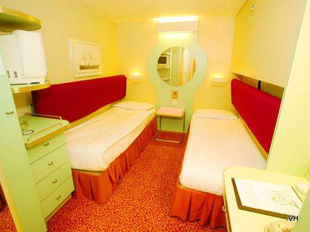 Super Star Libra - Inside Stateroom ( Cabin )