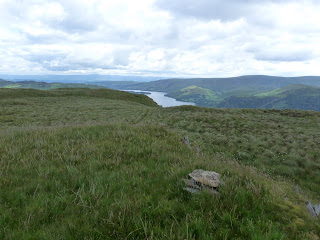 Ullswater in the distance from Brown Hills.