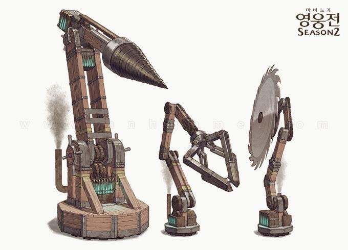 Soi thiết kế của Raid Battles của Mabinogi Heroes - Ảnh 3