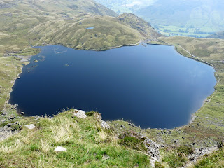 Stickle Tarn from higher up Jacks Rake