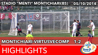 Montichiari - VirtusVecomp - Highlights del 05-10-2014