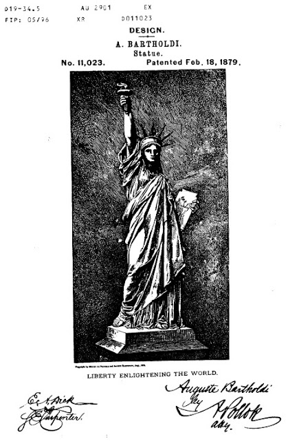 Statue of Liberty - US Design Patent