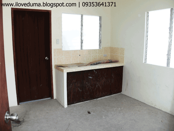 Dumaguete house for sale view of the kitchen - Del Pilar image