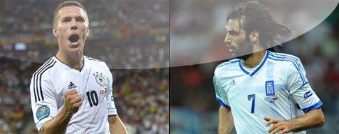 Alemania vs. Grecia en VIVO - 22 de Junio - Eurocopa 2012