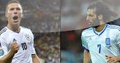 Alemania vs. Grecia en VIVO - 22 de Junio - Euro 2012
