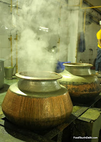 Copper pots for cooking