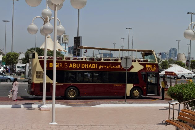 Big Bus tours of Abu Dhabi