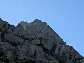 Looking skywards - Tryfan
