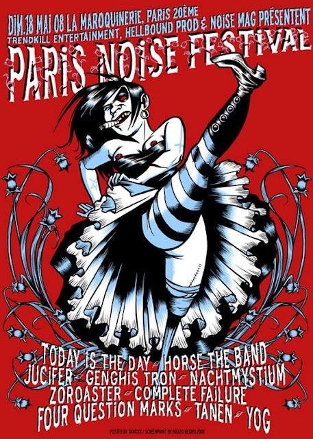 Paris Noise Festival @ La Maroquinerie, Paris 18/05/2008