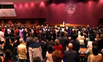 Prem Rawat Maharaji en United Nations Conference Center, Bangkok