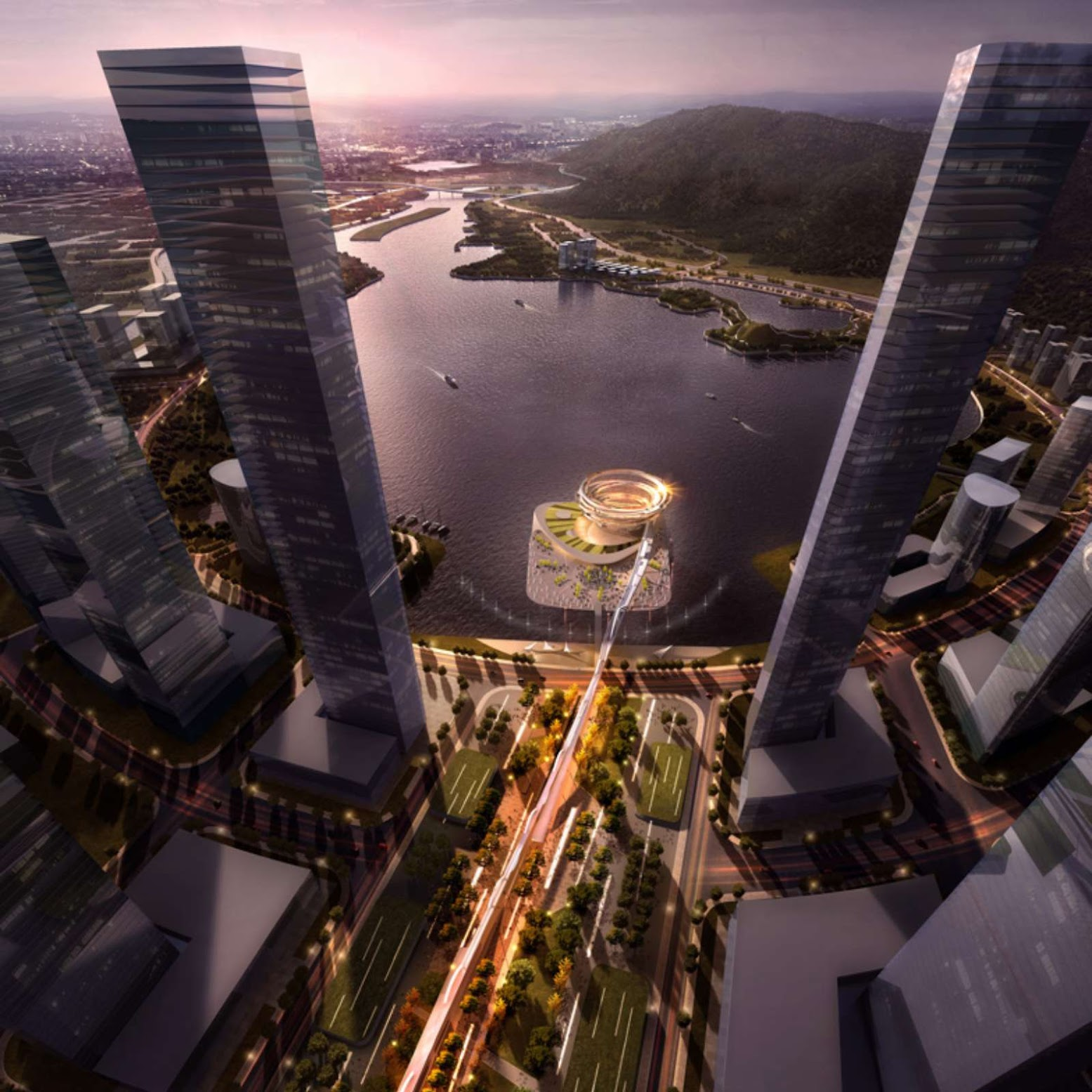 KSP wins the Meixi Urban Helix competition