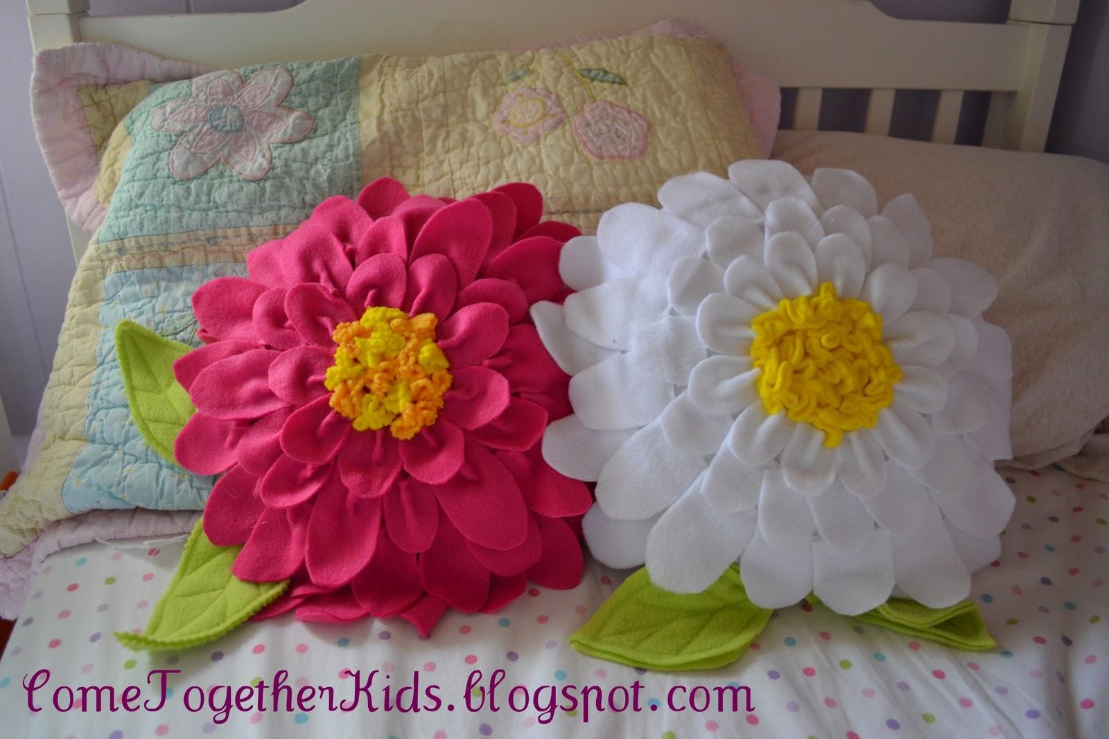 Подушки в виде цветов своими руками пошагово