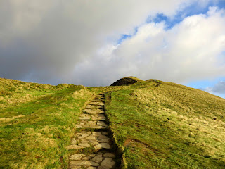 Path On The Way To Mam Tor