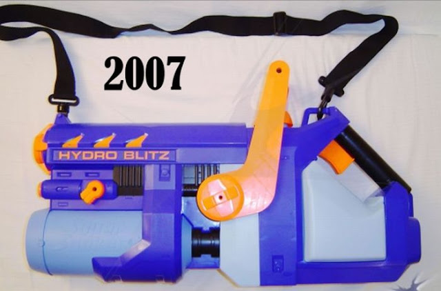 Super Soakers from '91 -'11 Seen On www.coolpicturegallery.us