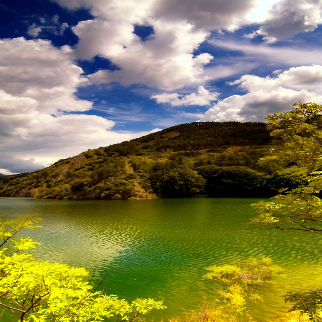 Beautiful Wallpapes: Cool Nature Pictures: Photo Beautiful Lakes