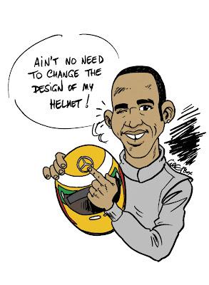 Льюис Хэмилтон и звезда Mercedes на шлеме - комикс Cirebox