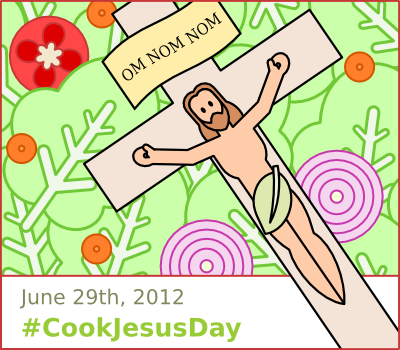 Cook Jesus Day