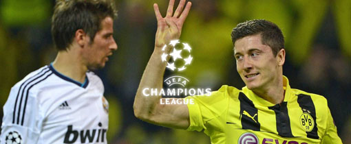 Real Madrid vs. Borussia Dortmund en Vivo - Champions