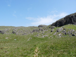 Descending from Buckbarrow