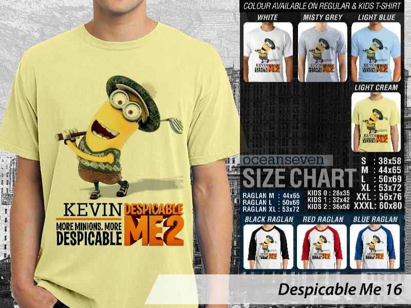 KAOS Despicable me 16 Movie Animation distro ocean seven