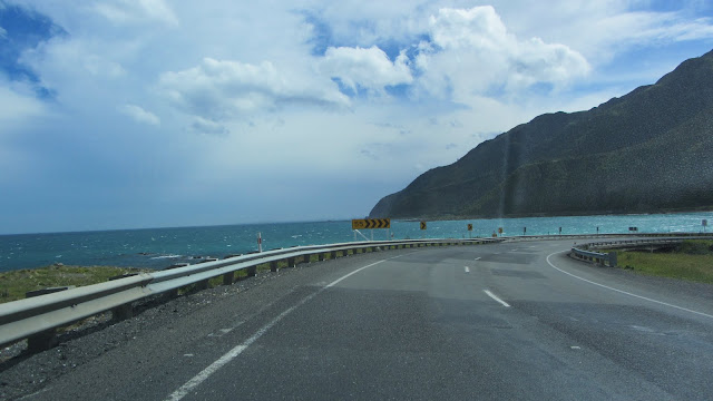 The stunning drive down the South Island's western coast to Kaikoura.