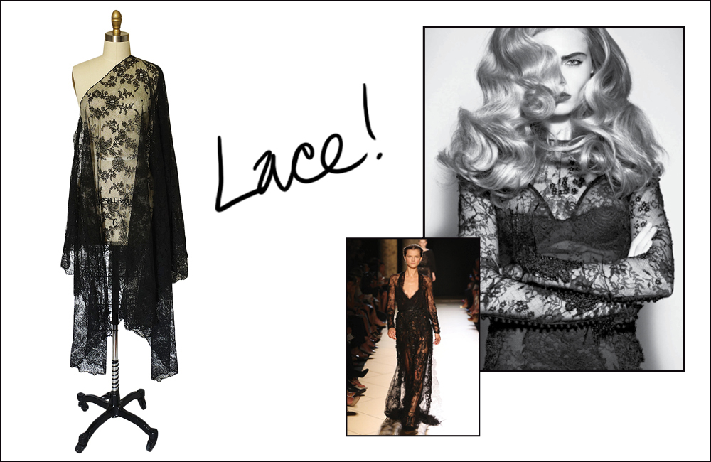Lace? Love it or Leave it?
