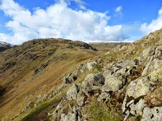 Ridge to Calf Crag from near Gibson Knott