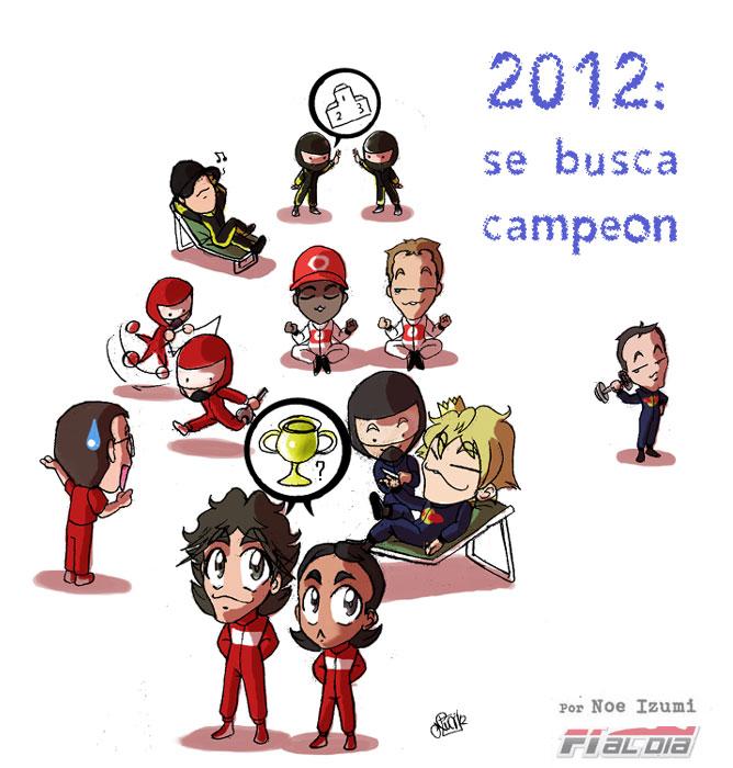 Сражение за чемпионский титул 2012 - анимешная картинка Noe Izumi