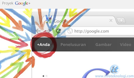 Google + Screenshot