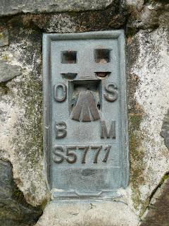 Ling Fell Summit Trig Point Flush Bracket (S5771)
