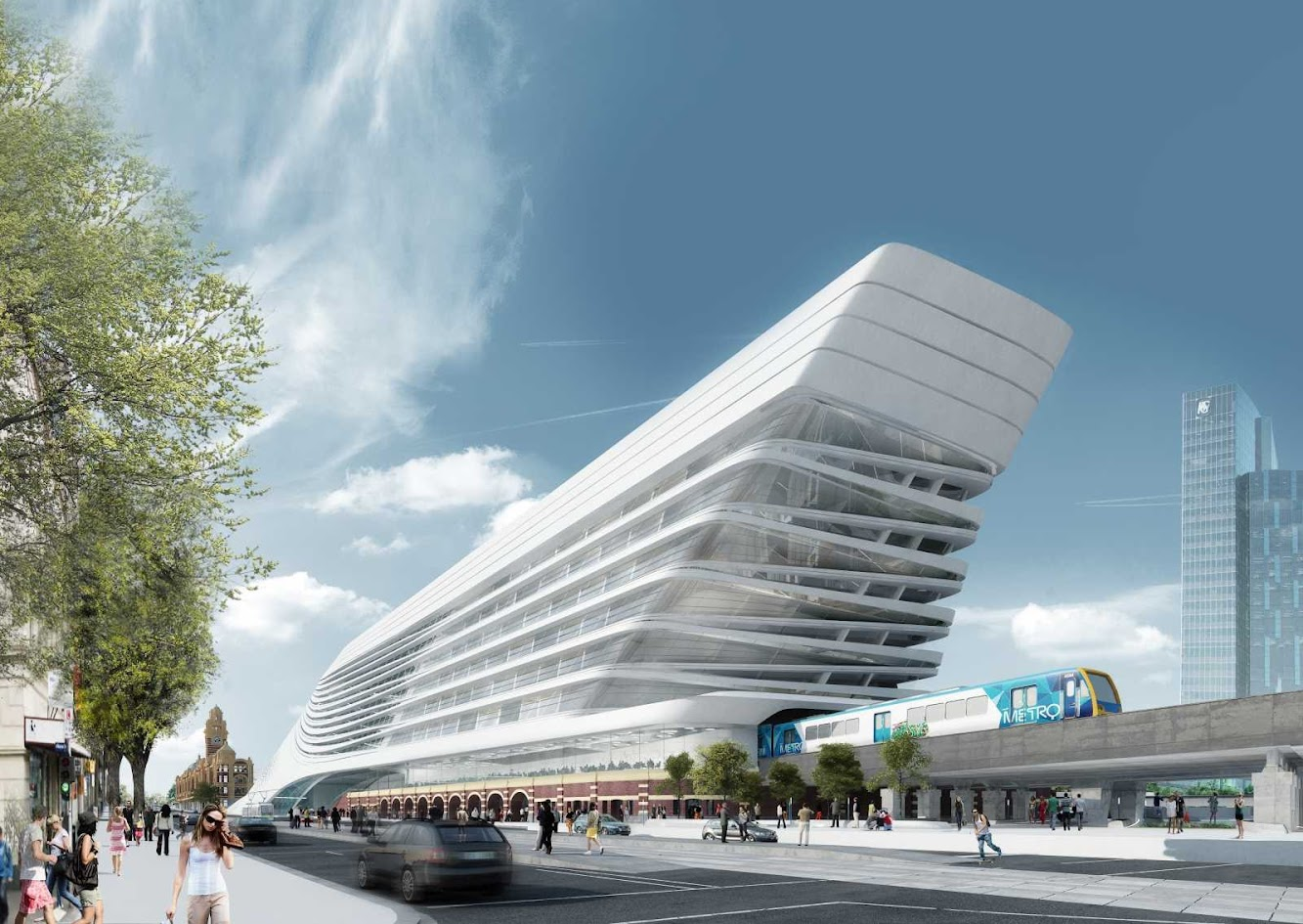 05-Flinders-Street-Station-Design-Competition-by-Zaha-Hadid+BVN-Architecture