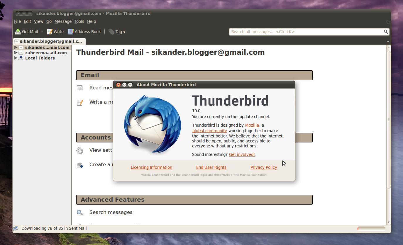 thunderbird  releasenotes