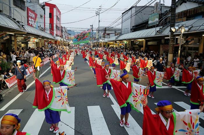 第60回よさこい祭り☆本祭1日目・升形地域競演場44☆上1目1659