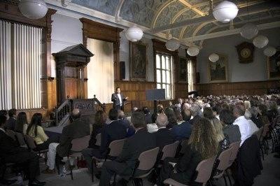Prem Rawat Maharaji en Oxford University, UK