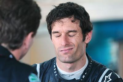 ухмылка Марка Уэббера на Гран-при Европы 2011