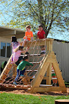 Our preschool students at the Palos Verdes campus love their natural play structure. Not only is it great for motor skill development, it's also wonderful for all kinds of imaginative play!