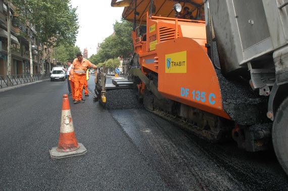 Asfaltado sostenible para la calle Méndez Álvaro entre Pedro Bosch y Bustamante