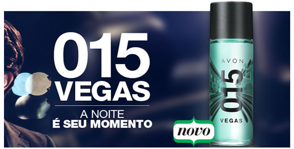 Nova fragrância 015 Vegas