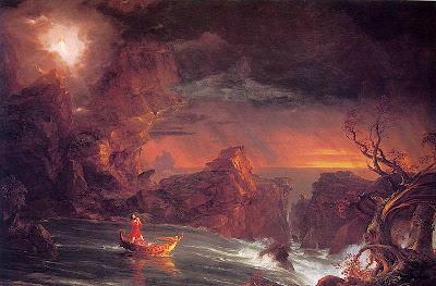 Thomas Cole - The Voyage of Life Manhood