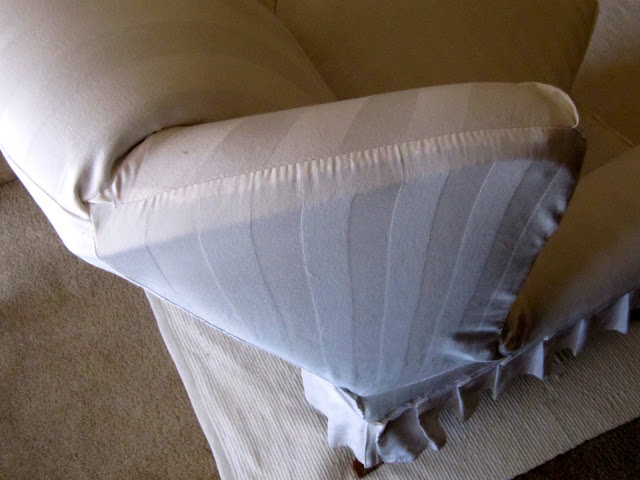 How to Make a Wing Chair Slipcover