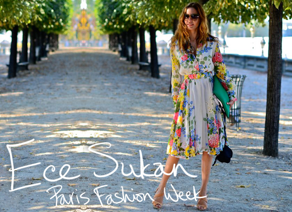 Wearing Vintage [Ece Sukan Paris Fashion Week]