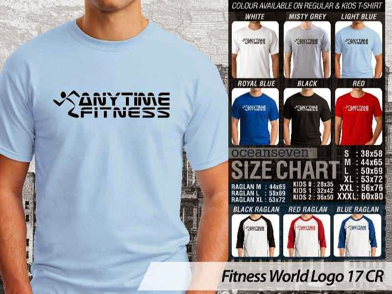 KAOS Anytime Fitness Fitness & Gym Series distro ocean seven