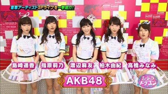 (TV-Music)(1080i) AKB48 Part (Music Dragon) 140829