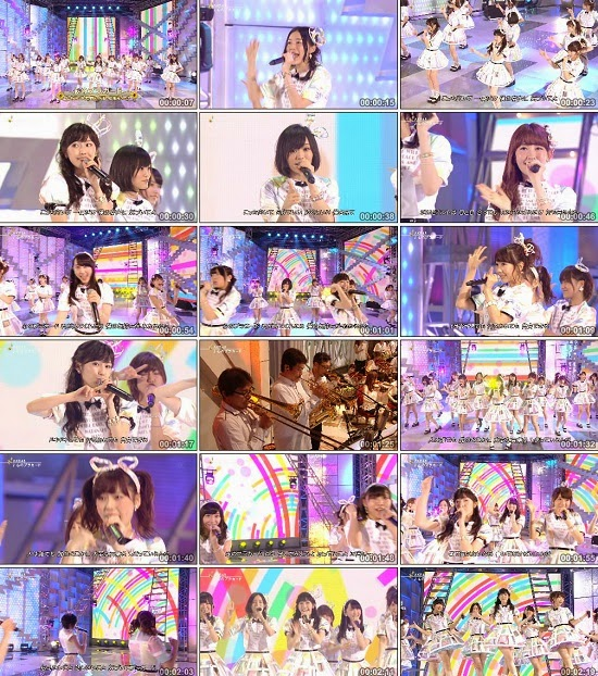 (TV-Music)(1080i) AKB48G Nogizaka46 (All Part) – FNSうたの夏まつり2014 140813