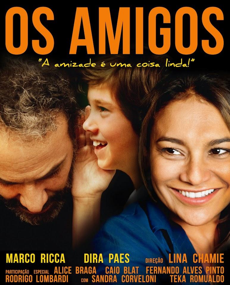 Filme Poster Os Amigos BDRip XviD & RMVB Nacional