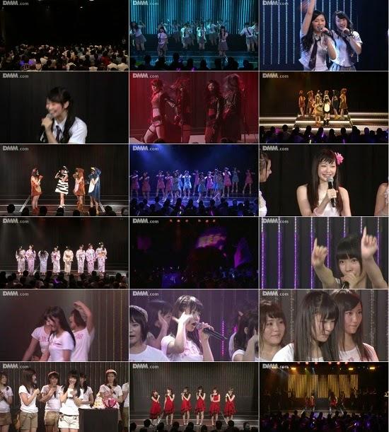 "(LIVE)(公演) NMB48 研究生 ""青春ガールズ"" 中野麗来の生誕祭 140926"