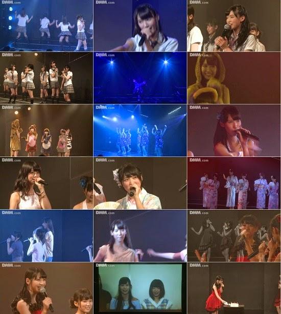 """(LIVE)(公演) HKT48 チームH """"青春ガールズ"""" 田中菜津美の生誕祭 140825"""