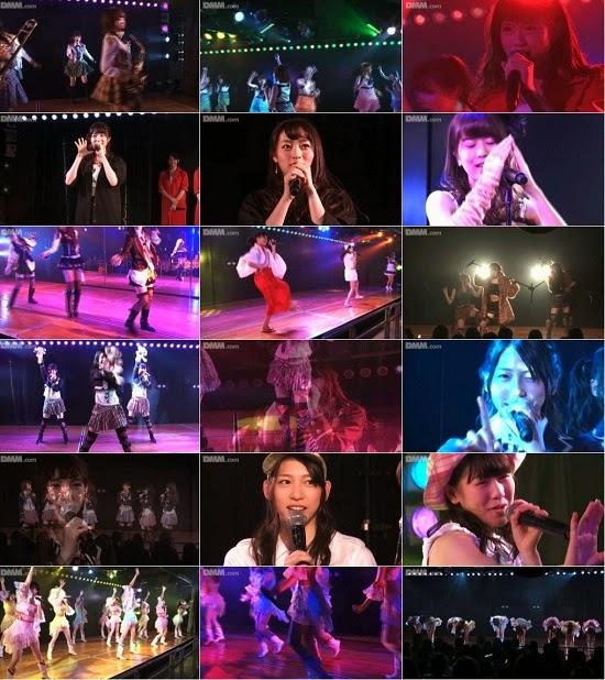 """(LIVE)(公演) AKB48 チーム4 """"アイドルの夜明け"""" 公演 141024"""